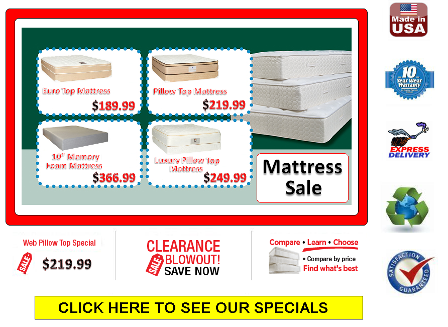 Posted on April 4, 2014 by Pillow Top Mattress $189.99